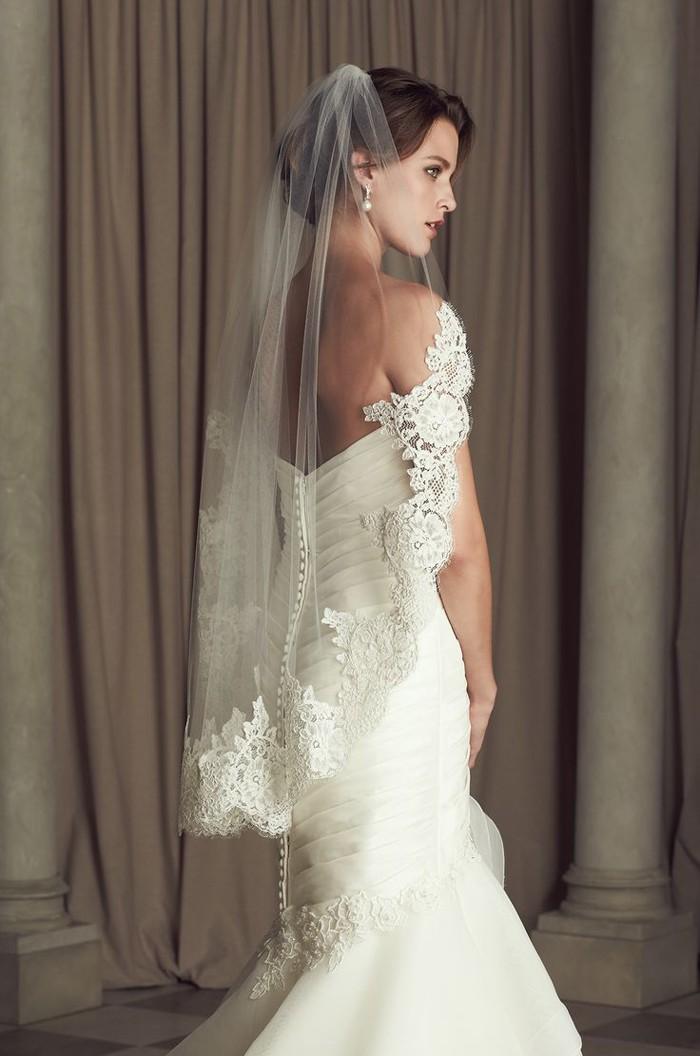 32 Hochzeitsideen für Brautfrisuren mit Schleier- weil das ...