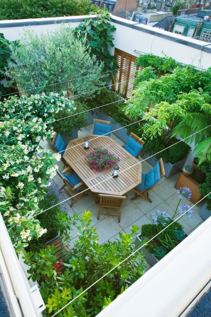 dachterrasse dachgarten anlegen und passende gartenmöbel auswählen