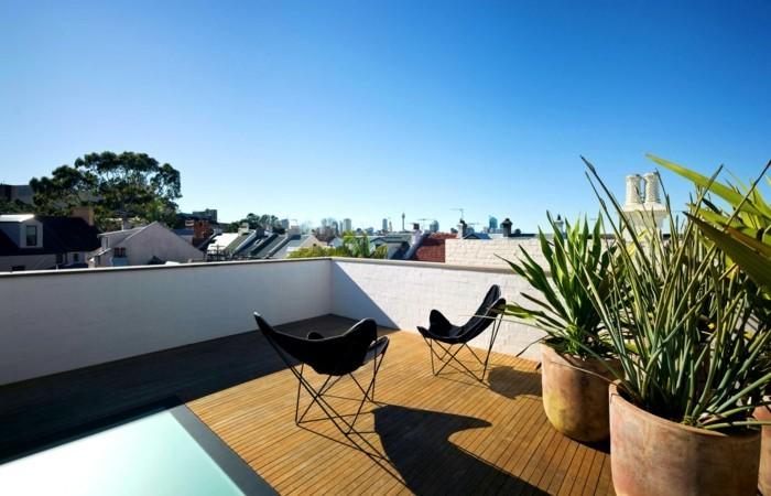 Perfect Dachterrasse Einfach Zwei Sessel Stellen Und Die Aussicht Genießen Die  Dachterrasse U2013 Schaffen Sie Eine Wohlfühloase Auf Dem Dach!