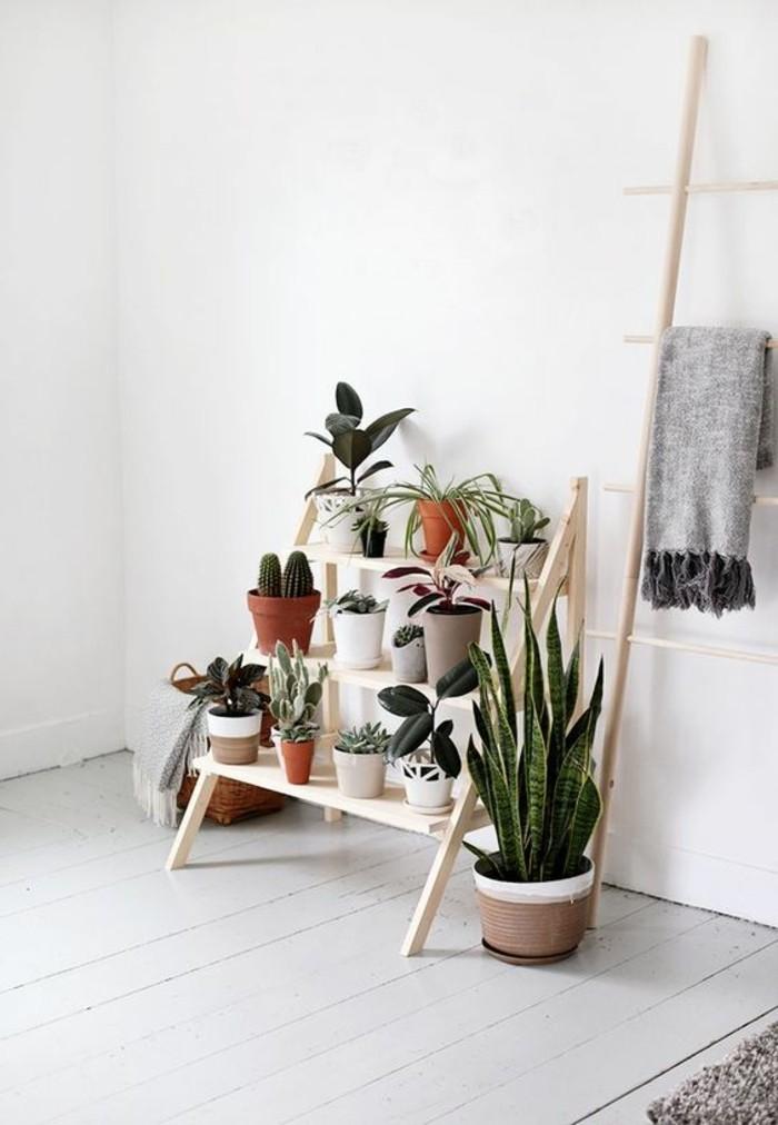 blumentreppe selber bauen interior design und m bel ideen. Black Bedroom Furniture Sets. Home Design Ideas