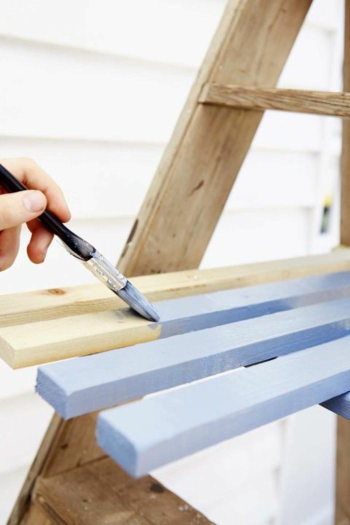 do it yourself ideen alte treppenleiter in eine coole blumentreppe verwandeln