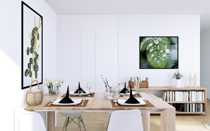 Esszimmer Modern Und Stilvoll In Skandinavischem Stil Gestalten  Skandinavisches Design Im Esszimmer U2013 50 Inspirierende Ideen Für Einen  Gemütlichen Und ...