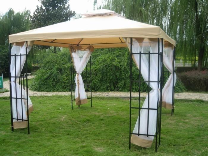 gartelpavillon selber machen ideen