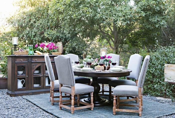 Garten Sitzecke - 99 Ideen, Wie Sie Ein Outdoor Wohnzimmer Gestalten Outdoor Bereich Mit Hangematte Ideen Bilder