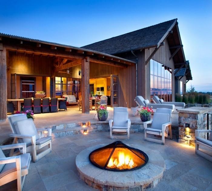garten sitzecke 99 ideen wie sie ein outdoor wohnzimmer gestalten. Black Bedroom Furniture Sets. Home Design Ideas