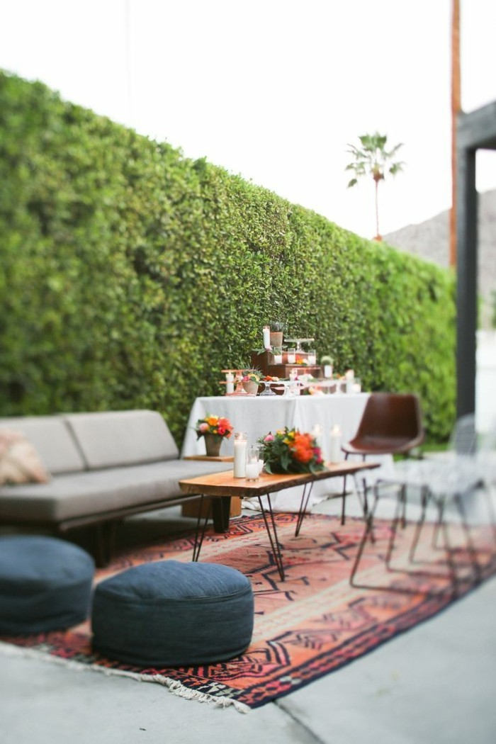 Garten Sitzecke - 99 Ideen, wie Sie ein Outdoor Wohnzimmer gestalten