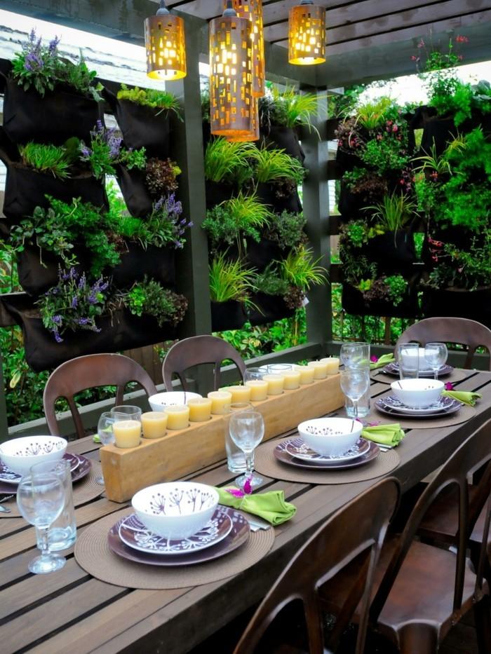 garten sitzecke - 99 ideen, wie sie ein outdoor wohnzimmer gestalten, Gartenarbeit ideen