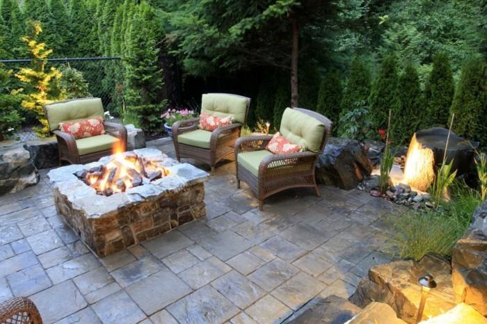 Gemeinsame Garten Sitzecke - 99 Ideen, wie Sie ein Outdoor Wohnzimmer gestalten #DZ_82