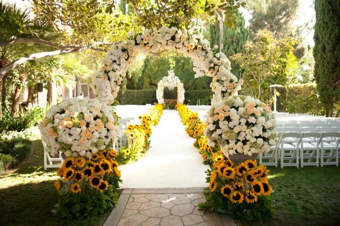 Hochzeitsfeier im freien wenn die hochzeit im garten for Gartendeko hochzeit