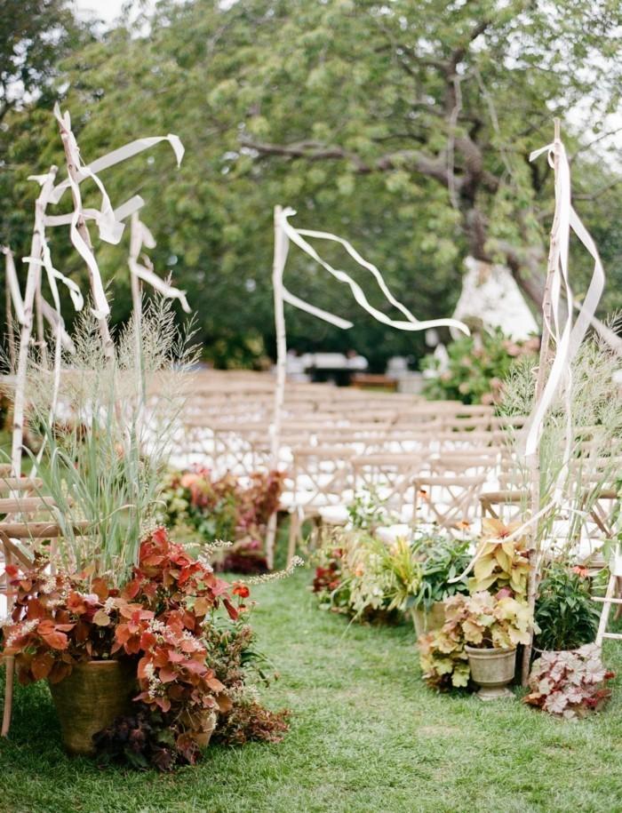Gartenparty Hochzeitsparty Im Garten Mit Schöner Blumendeko Hochzeitsfeier  Im Freien U2013 Wenn Die Hochzeit Im Garten Stattfindetu2026