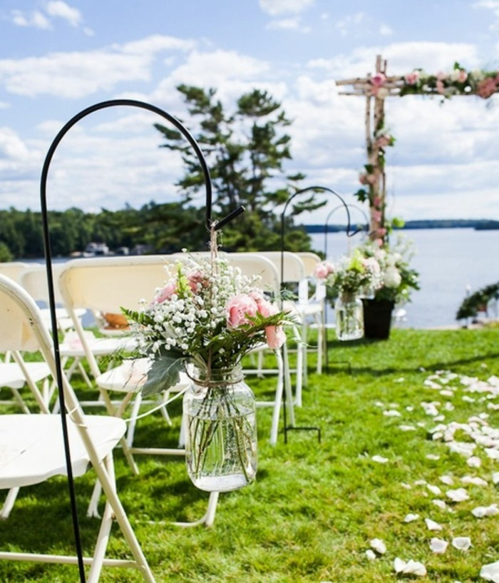 gartenparty ideen für die gartenhochzeit romantische dekoration
