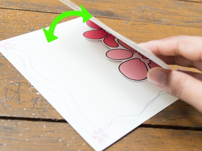 geburtstagskarte selber basteln karte falten