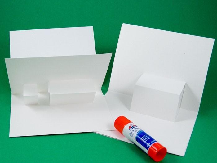 geburtstagskarte selber basteln pop up karte selber machen