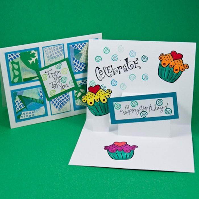 Geburtstagskarten selber basteln 3d