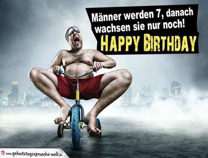 70 freche und lustige Geburtstagssprüche für Männer