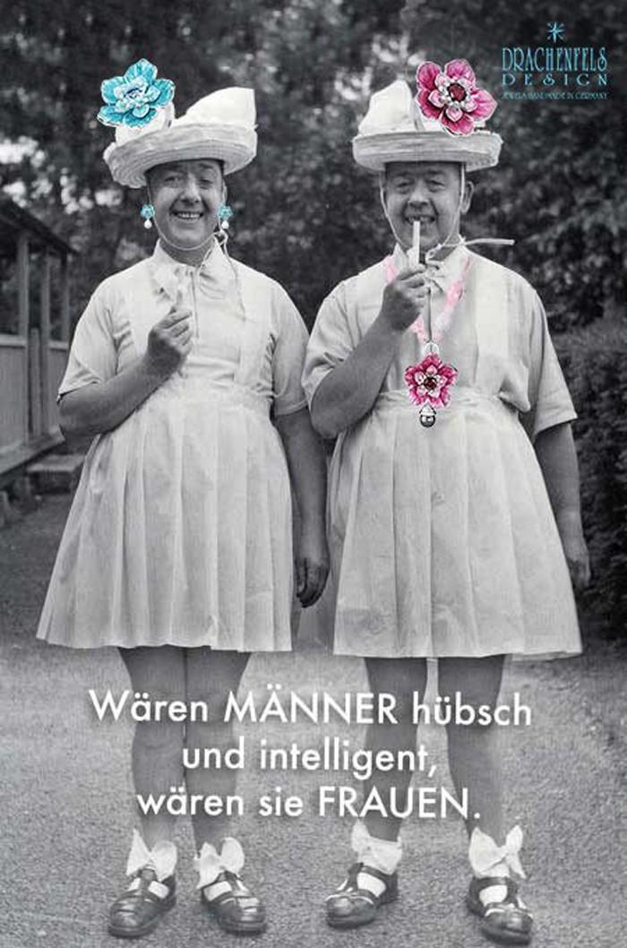 Alte Frauen Lustig