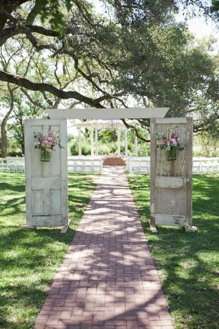 Hochzeitsfeier Im Freien Wenn Die Hochzeit Im Garten Stattfindet