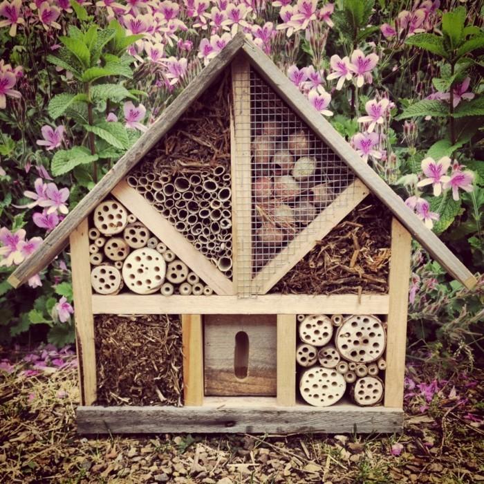 insektenhotel selber errichten
