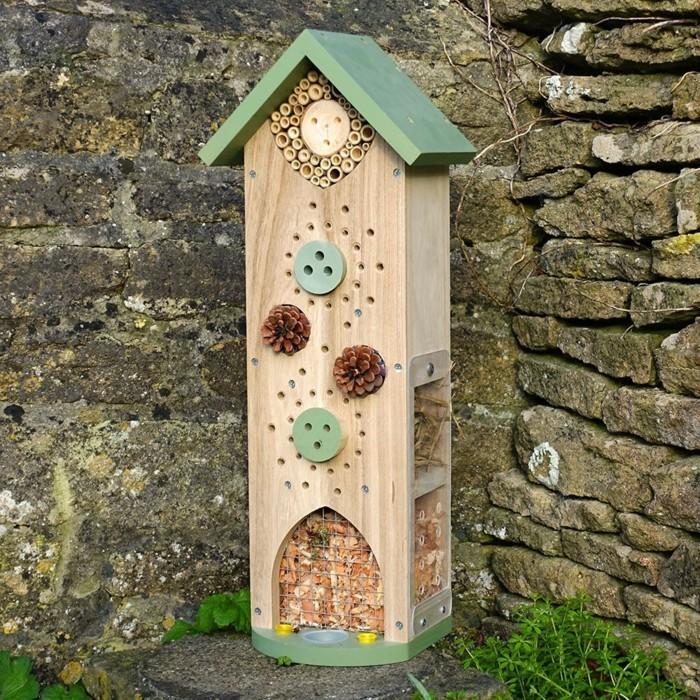 interessante idee fuer ein insektenhotel