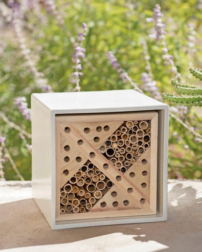 kleines insektenhotel bauen