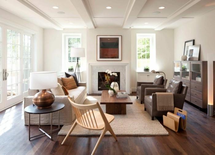 lichtplanung im wohnzimmer lampendesign traditionell und stilvoll