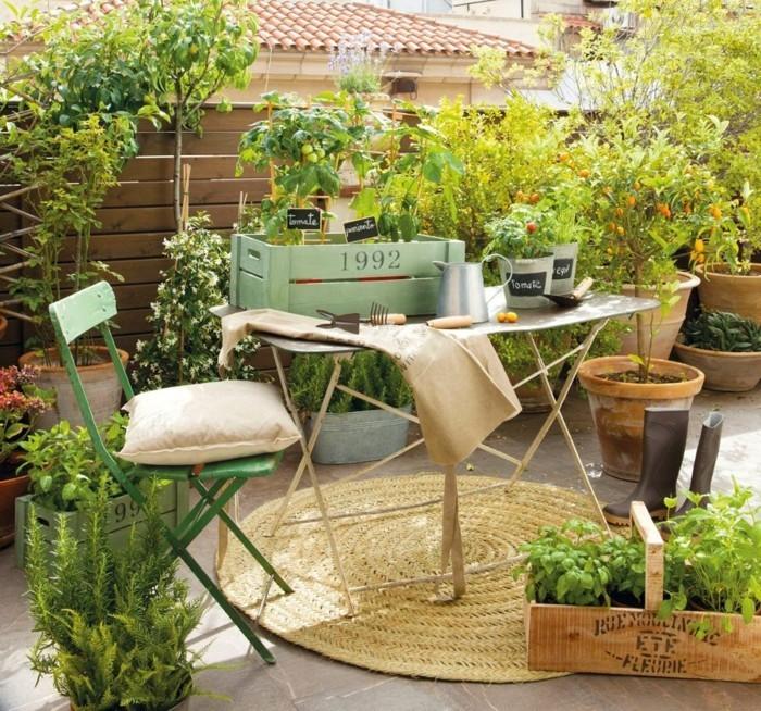 Low Budget Gartengestaltung Gartenideen Mit Holzkisten Und Alten Stühlen 55  Günstige Gartenideen: Einen Schönen Garten Mit Wenig Geld Gestalten!