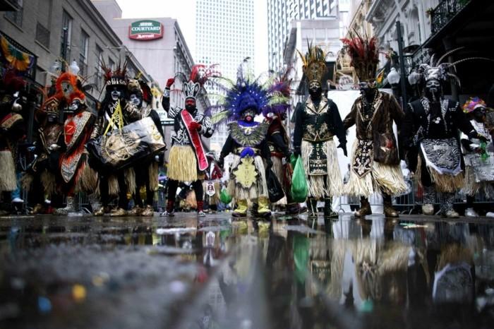 mardi gras karneval szenen
