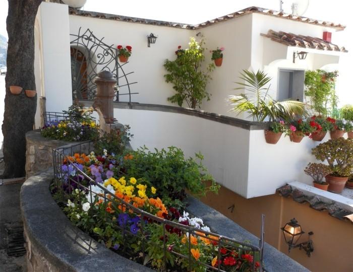 mediterrane gartengestaltung medeiterrane pflanzen