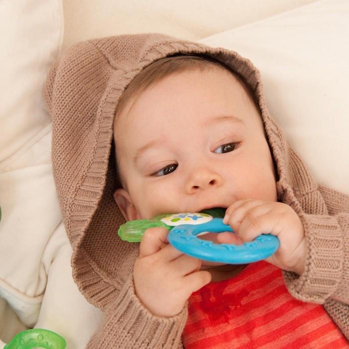 neugeborenes baby beissring