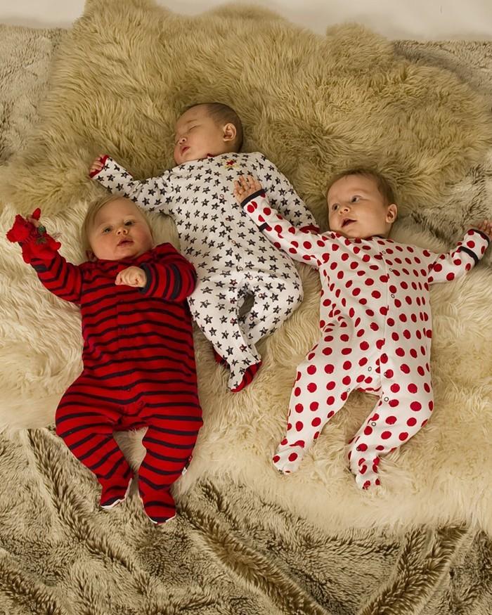 neugeborenes baby strampler