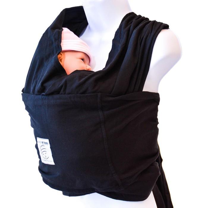 neugeborenes baby tragen