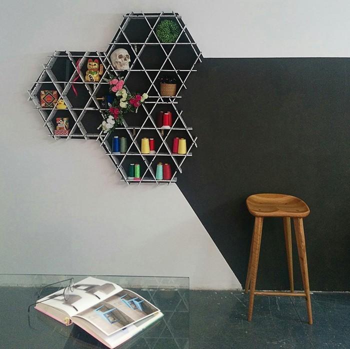 pappmoebel kartonmöbel bett aus karton kinderzimmer gestalten ideen diy ideen büro designer möbel wandregal