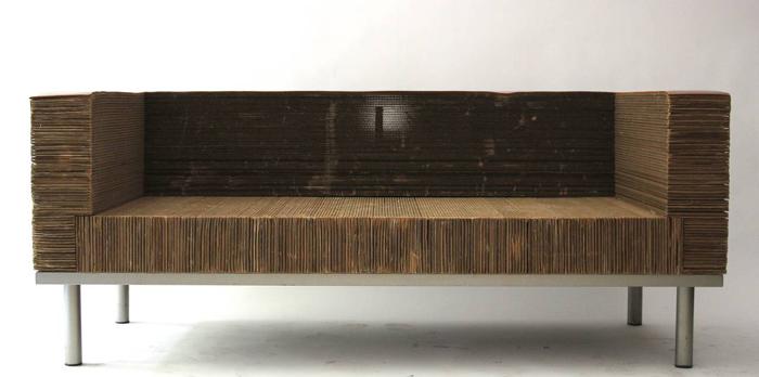 pappmoebel kartonmöbel bett aus karton kinderzimmer gestalten ideen diy ideen wohnzimmer