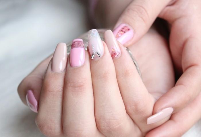 pastellfarben fingernägel gelnägel nagellack shelack hochzeit