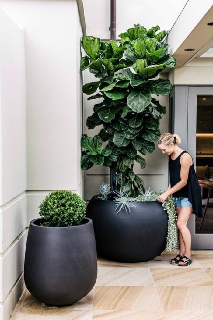 pflanzkübel große pflanbehälter für den außenbereich
