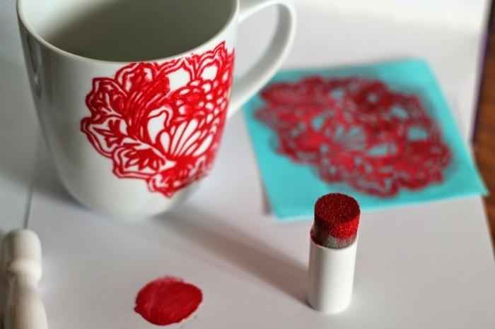 rote grellefarbe originelle ideen zeigen