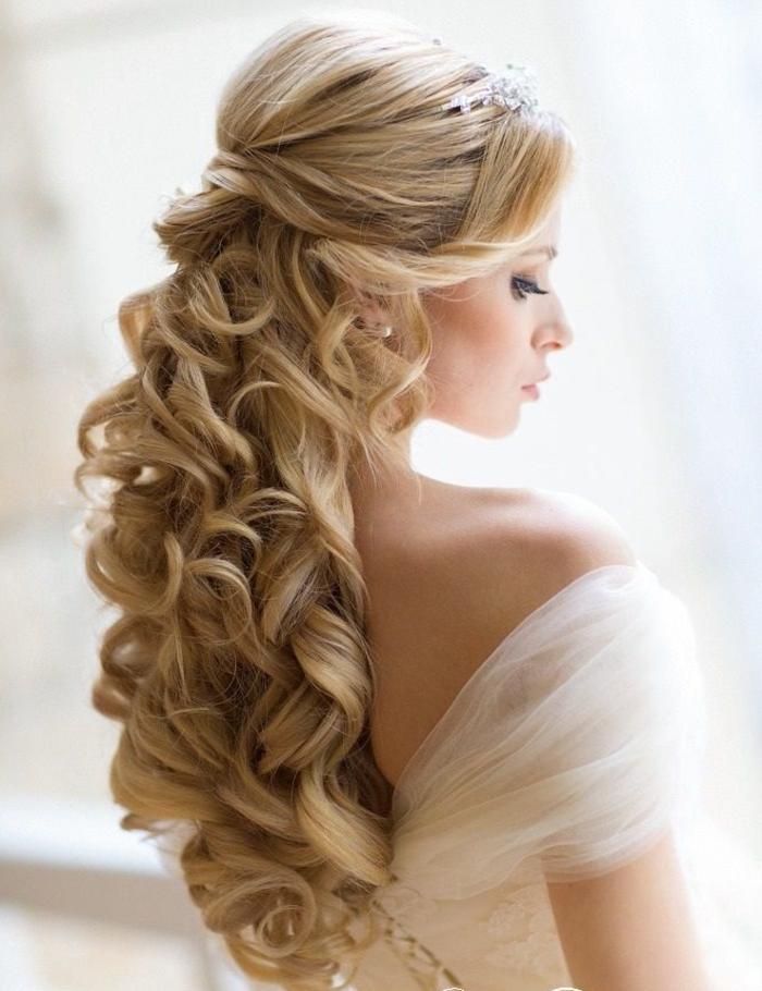 20 schöne Frisuren für die Hochzeit - die perfekte Brautfrisur für ...