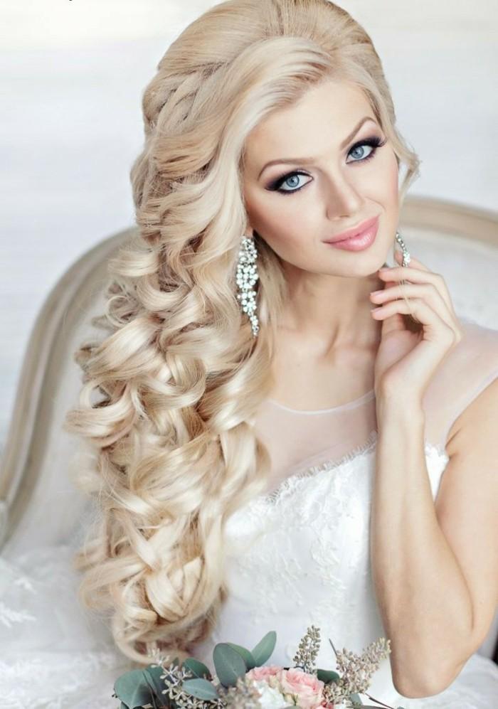 Sch Frisuren Stilvolle Hochzeitsfrisuren Lange Haare Coafuri Mireasa Par Lung Desfacut