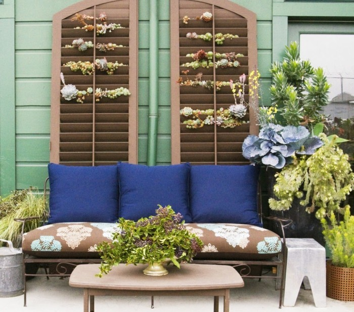schöne gärten bequeme sitzecke im garten gestalten