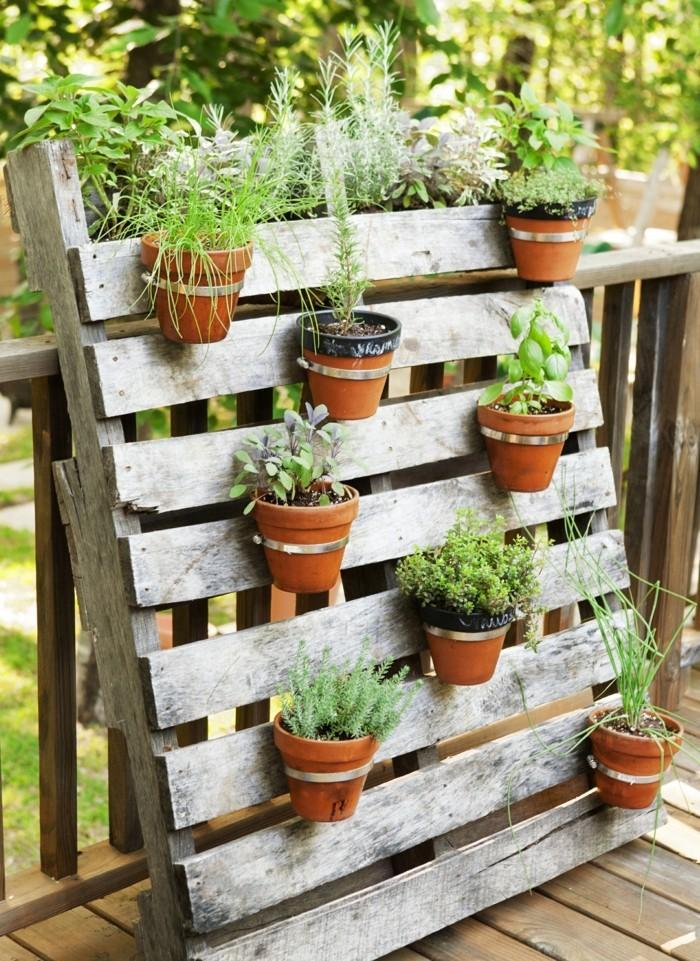 schöne gärten kreative gartendeko mit paletten