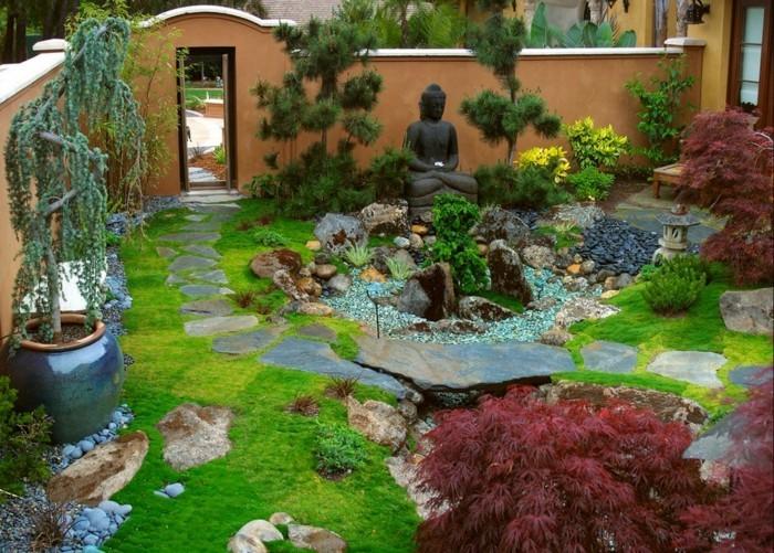 schöne gärten frische gartenideen und harmonische ausstrahlung