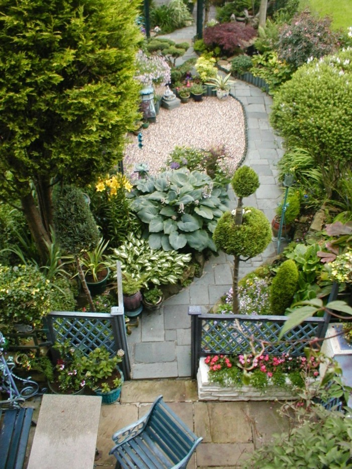 schöne gärten gartenplanung mit gartenbereichen