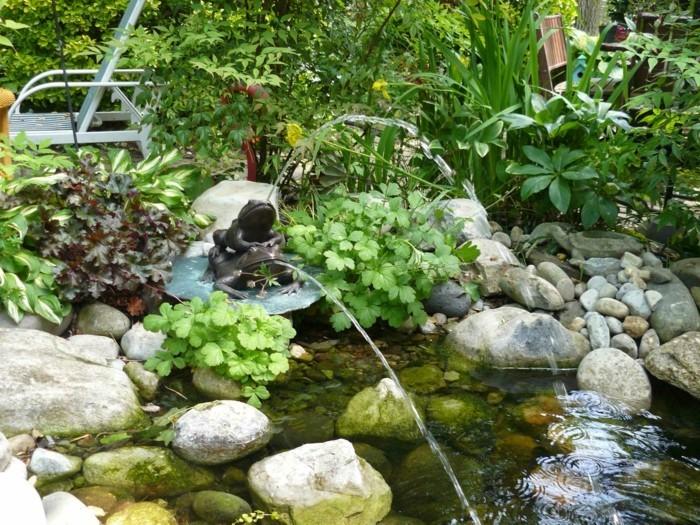 schöne gärten gartenteich und gartenaccessoires