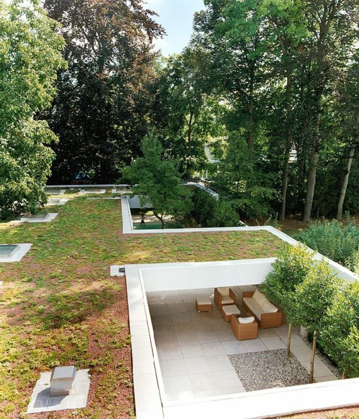 schöne gärten geordneter und stilvoller garten