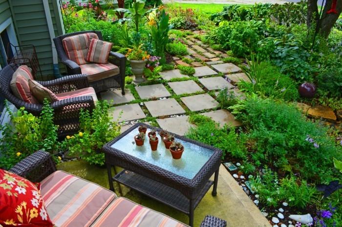 schöne gärten ideen für eine farbenfrohe gartengestaltung