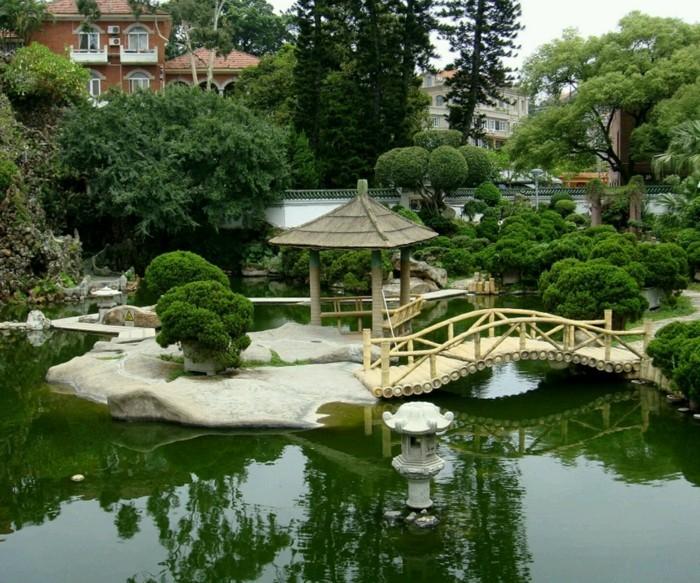 schöne gärten japanischen garten gestalten