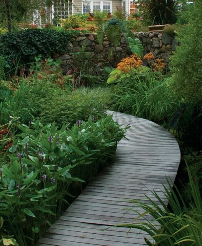 schöne gärten kreative gartenwege gestalten