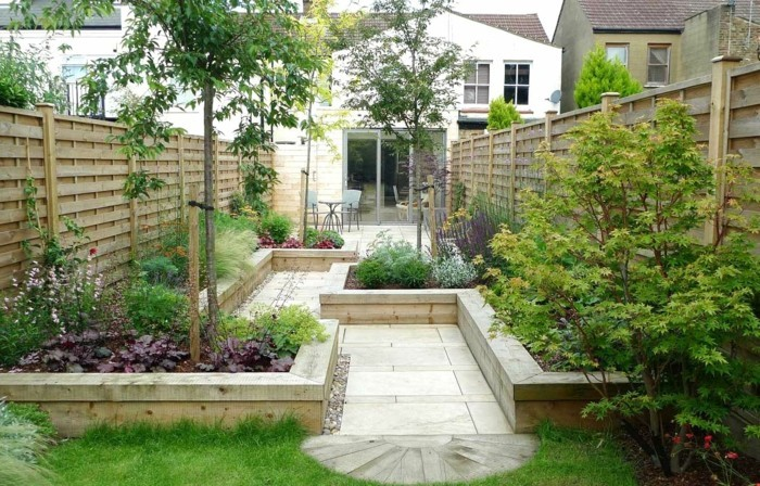 schöne gärten ordnung im garten halten