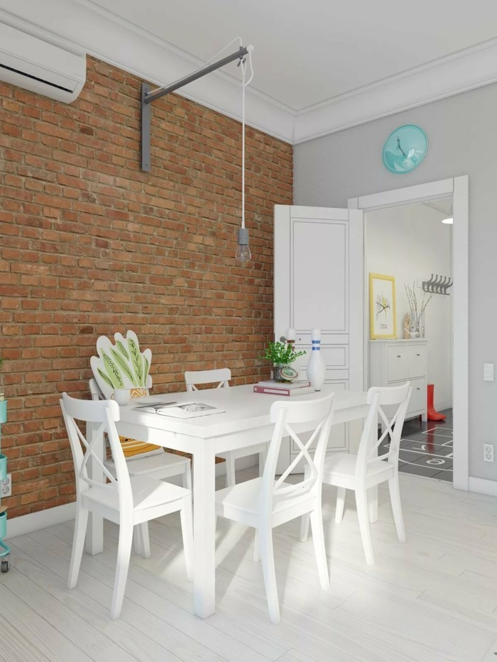 skandinavisch einrichten das esszimmer mit weißen möbelstücken gestalten