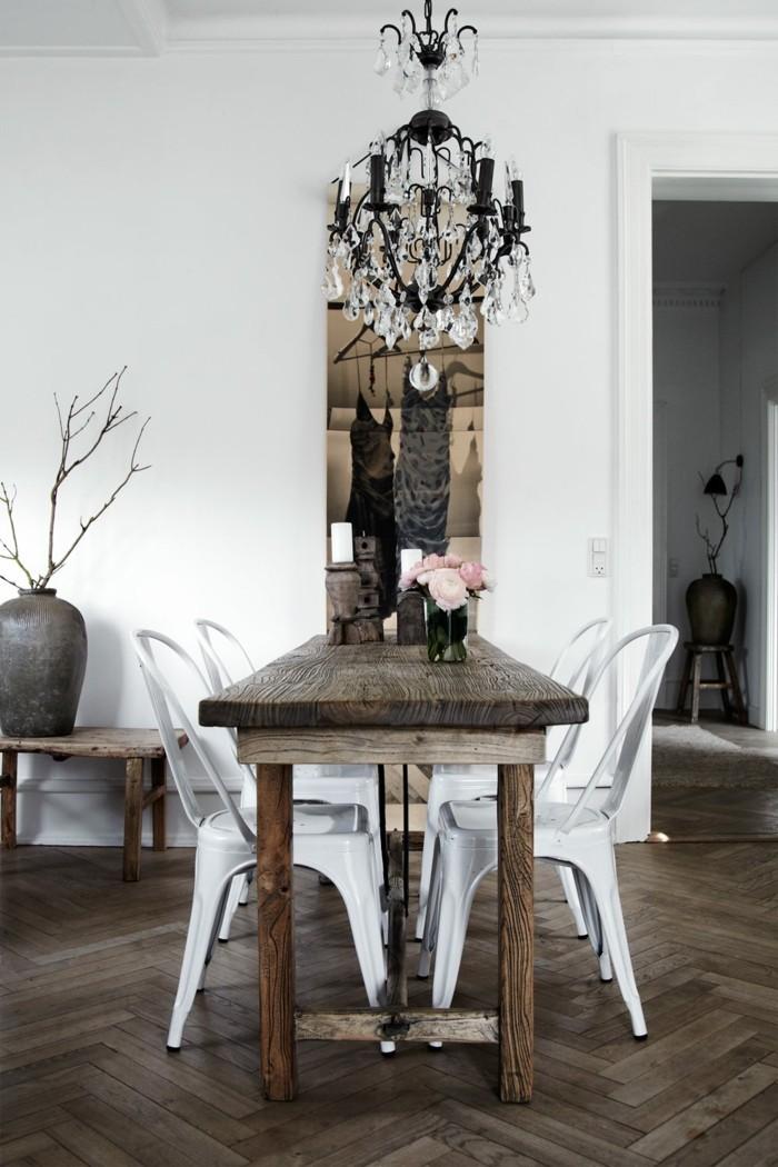 Skandinavisches Design im Esszimmer - 50 inspirierende Ideen für einen gemütlichen und ...
